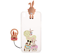 For  OPPO R9s R9 Transparent Pattern Case Back Cover Case 3D Cartoon Hard PC R9 Plus