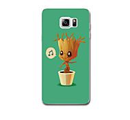 Für Hüllen Cover Ultra dünn Muster Rückseitenabdeckung Hülle Baum Weich TPU für Samsung Note 5 Note 4 Note 3