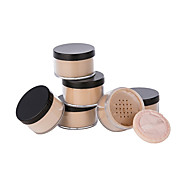 6 Pressed Powder Dry Powder Coverage Concealer Natural Waterproof Face