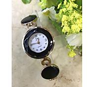 Women's Elegant Gold Bracelet Quartz Watch