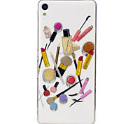 For Sony Xperia XA M2 Case Cover Cosmetic Pattern Painted High Penetration TPU Material IMD Process Soft Case Phone Case