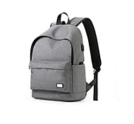 For MacBook Pro Air 11 13 15 Inch Backpacks Oxford cloth Solid Color Laptop Universal Bag for Traveling and Leisure 15.6