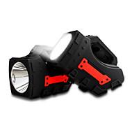 Портативный свет водить свет прожекторов кемпинг фонарик 1pcs huntight портативный прожектор портативный прожектор света 2500mAh