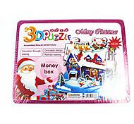 Jigsaw Puzzles 3D Puzzles Building Blocks DIY Toys House 1 Model & Building Toy