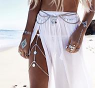 Body Jewelry/Leg Chain Body Chain Alloy Tassels Silver/Gold