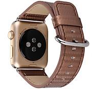 Para o relógio da maçã series1 2 couro da fibra do carbono alinhado correia 38mm 42mm