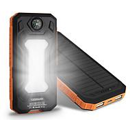 новый 10000mAh ssolar зарядное устройство кемпинг лампа компас универсальный ssolar питания для мобильных устройств