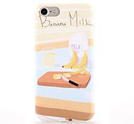 Для Чехлы панели С узором Задняя крышка Кейс для Продукты питания Мягкий TPU для AppleiPhone 7 Plus iPhone 7 iPhone 6s Plus iPhone 6 Plus