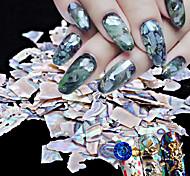 1pc diy японский гвоздь art act 5 g pack натуральный ультратонкий большой кусочек шелушителя ушка
