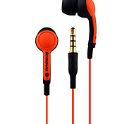 Lenovo P165 Mobile Earphone for Cellphone Computer In-Ear Wired Plastic 3.5mm With Microphone Noise-Cancelling