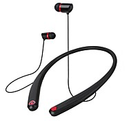 Wireless Stereo Neckband Bluetooth Headset with Attractive Magnet and Flexible Material Design for IOS and Android Cellphones