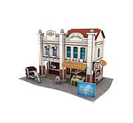 Rompecabezas Puzzles 3D Bloques de construcción Juguetes de bricolaje Arquitectura China 1 Papel Modelismo y Construcción