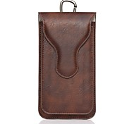 For iPhone 7 7 Plus Magnetic Case Belt Clip Bag Case Solid Color Soft Genuine Leather for iPhone 6 6 Plus 5 5S 5C 4G