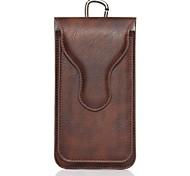 Для iphone 7 7 плюс магнитный чехол для ремня для ремня для сумки сплошной цвет мягкая натуральная кожа для iphone 6 6 плюс 5 5s 5c 4g