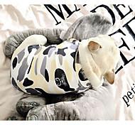 Собака Футболка Одежда для собак Очаровательный На каждый день геометрический Камуфляж цвета