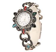 Women's Bracelet Watch Quartz Alloy Band Silver