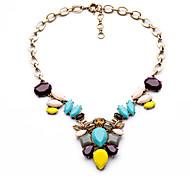 Women's Pendant Necklaces Geometric Chrome Unique Design Personalized Rainbow Jewelry For Housewarming Congratulations Casual 1pc