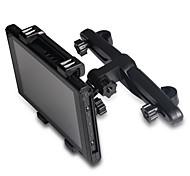 360 Rotating Adjustable Car Back Seat Headrest Mount Holder Stand Bracket Cradle For Switch