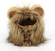 Lion Mane Wig for Dog and Cat Costume Pet Adjustable Washable Comfortable Fancy Lion Hair