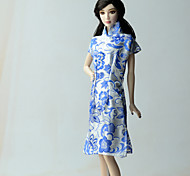 Ethnic Dresses For Barbie Doll Dress For Girl's Doll Toy