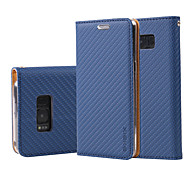 For Samsung Galaxy J5 (2017) J7 (2017) Case Cover The Grid Grain PU Leather Cases for J3 J5 J7 (2016) J7 Prime J5 Prime