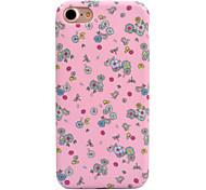 Для apple iphone 7 7 плюс 6s 6 плюс чехол для крышки цветной узор наклейка для ухода за кожей touch pc material phone case
