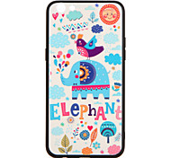 For OPPO R9s  R9s Plus Case Cover Pattern Back Cover Case Elephant Hard PC R9  R9 Plus