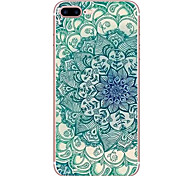 For Apple iPhone 7 7 Plus 6S 6 Plus Case Cover Blue And White Pattern HD Painted TPU Material Soft Case Phone Case
