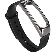 TPE Wristband for Xiaomi Mi Band 2 - BLACK