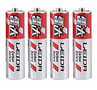 LEIDA AAA Cardon Zinc Dry Cell Battery 1.5V 40 Pack