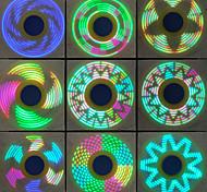 Спиннеры от стресса Ручной обтекатель Волчок Игрушки Игрушки Кольцо Spinner Металл EDCСтресс и тревога помощи Фокусная игрушка Товары для