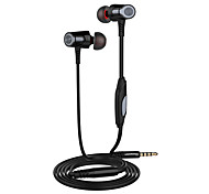 Langsdom eh360 auriculares universales de 3.5mm auriculares estéreo auriculares y micrófonos para Samsung híbrido huawei iphone phones