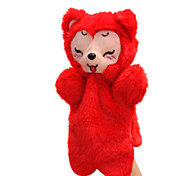 Мягкие игрушки Куклы Обучающая игрушка Пальцевая кукла Игрушки Животный принт Животные Для детей Куски