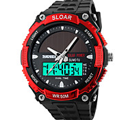 SKMEI® 1049  Men's Woman Solar ElectronicWatches Outdoor Sports Waterproof Sports Electronic Watches 50 Meters Waterproof