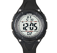 Men's Fashion Watch Digital Watch Digital Plastic Band Black