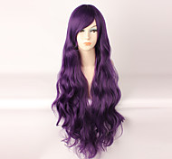 Lolita Wigs Sweet Lolita Purple Long Curly Lolita Wig 85 CM Cosplay Wigs Wig 147