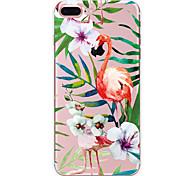 Для apple iphone 7 7 плюс 6s 6 плюс футляр для флип-чемодана с рисунком с высоким уровнем проникновения tpu материал мягкий чехол для