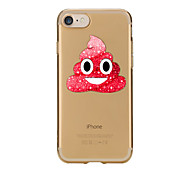 Case For IPhone 7 6 Emoji TPU Soft Ultra-thin Back Cover Case Cover iPhone 7 PLUS 6 6s Plus SE 5s 5 5C 4S 4