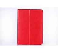 Für Samsung Galaxy Tab s2 8.0 Kartenhalter Brieftasche Fall Ganzkörper-Gehäuse Einfarbig harte PU-Leder