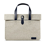 For MacBook Pro Air 12 13 15  Inch Sleeves Handbags Polyester Simple Portable Notebook Bag Solid Color Laptop Sleeves 15