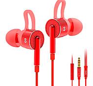 Em05 écouteur intra-auriculaire basse écouteur écouteur haute fidélité avec fonction d'ajustement contrôlé par fil
