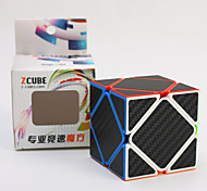 Z-Cube abnormal skweb cube with Carbon fiber sticker special-shaped oblique turnSpeed Cube Stress Relievers 3D Puzzles  Anti-pop Adjustable spring