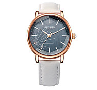 Women's Fashion Watch Japanese Quartz Water Resistant / Water Proof Leather Band Blue Orange Green