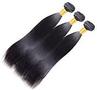 Полная головка 100g / 1pcs remy yaki 10-20inch цвет 1 человеческие волосы переплетаются