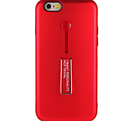 Case for Apple iPhone 7 7Plus  With Stand Solid Color Hard PC  Back Case for iPhone 6s Plus e 6 Plus  6s  6