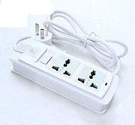 Power Strip 250V 10A with Switch 1.8M Cable US Plug UK Plug EU Plug