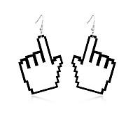 Жен. Серьги-слезки Бижутерия Природа Дружба Прочный обожаемый Массивные украшения резной Elegant Акрил Геометрической формы Бижутерия