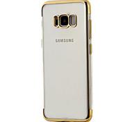 Для samsung galaxy s8 s8 плюс корпус покрытие покрытие процесс tpu материал мягкий упаковка телефон случай