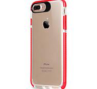 Для яблока iphone 7 7 плюс 6s 6 плюс крышка корпуса акриловая задняя панель tpu рамка с высоким проникновением без скольжения телефон для