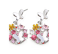 Earrings Jewelry Euramerican Fashion Personalized Crystal Alloy Jewelry Jewelry For Wedding Party Anniversary 1 Pair